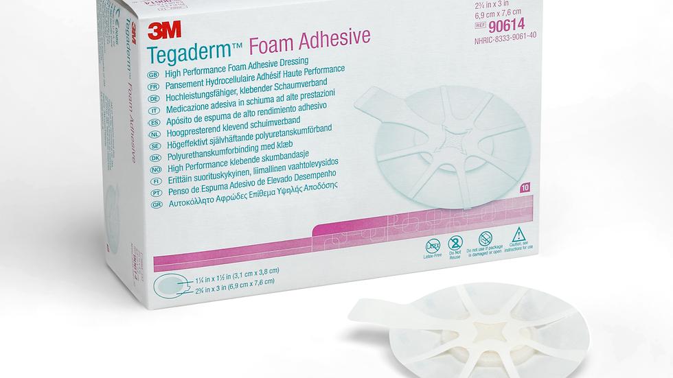 3M™ Tegaderm™ High Performance Foam Adhesive Dressing 90614, Mini Oval