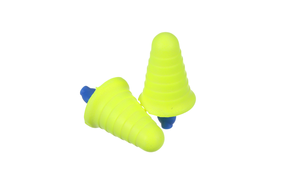 3M™ E-A-R™ Push-Ins™ Earplugs 318-1008, with Grip Rings, Uncorded, Poly Bag