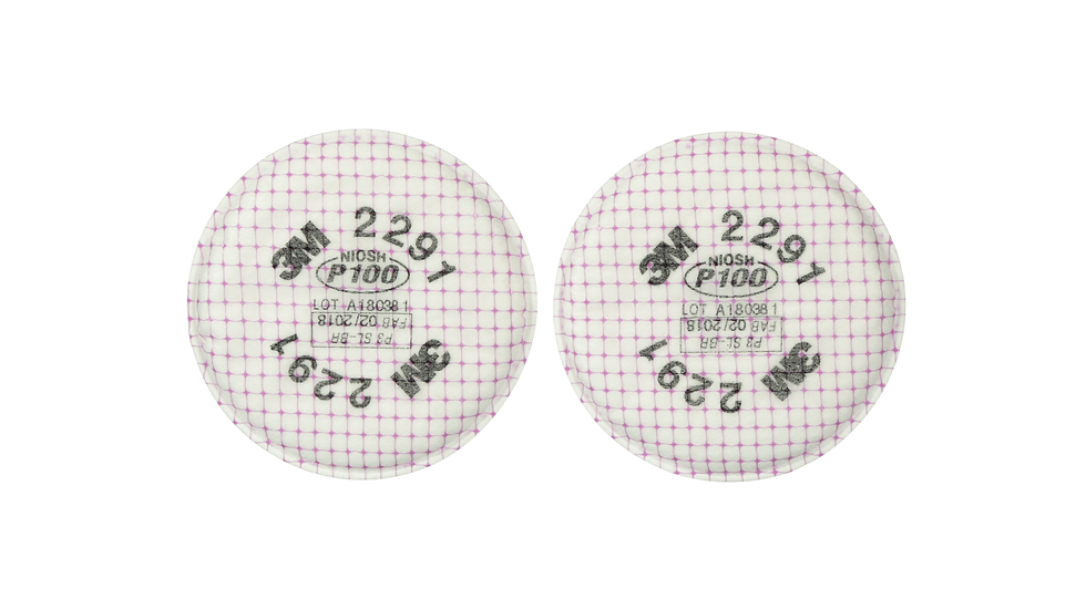3M™ Advanced Particulate Filter 2291, P100 100 EA/Case