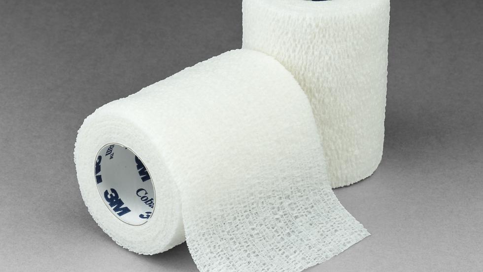 3M™ Coban™ Self-Adherent Wrap 1583W, White, 3 Inch x 5 Yards, 24 Wraps/Case