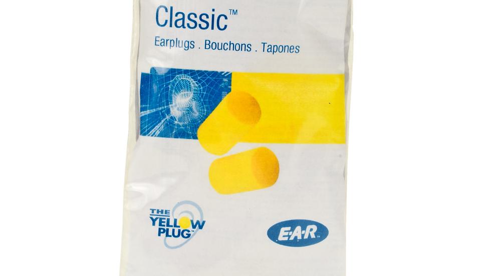 3M™ E-A-R™ Classic™ Earplugs VP312-1201, Uncorded, Vending Pack