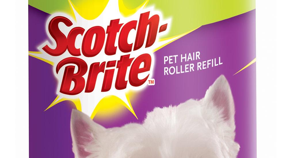 Scotch-Brite™ Pet Hair Roller Refill 839RFS-56, 12/cs