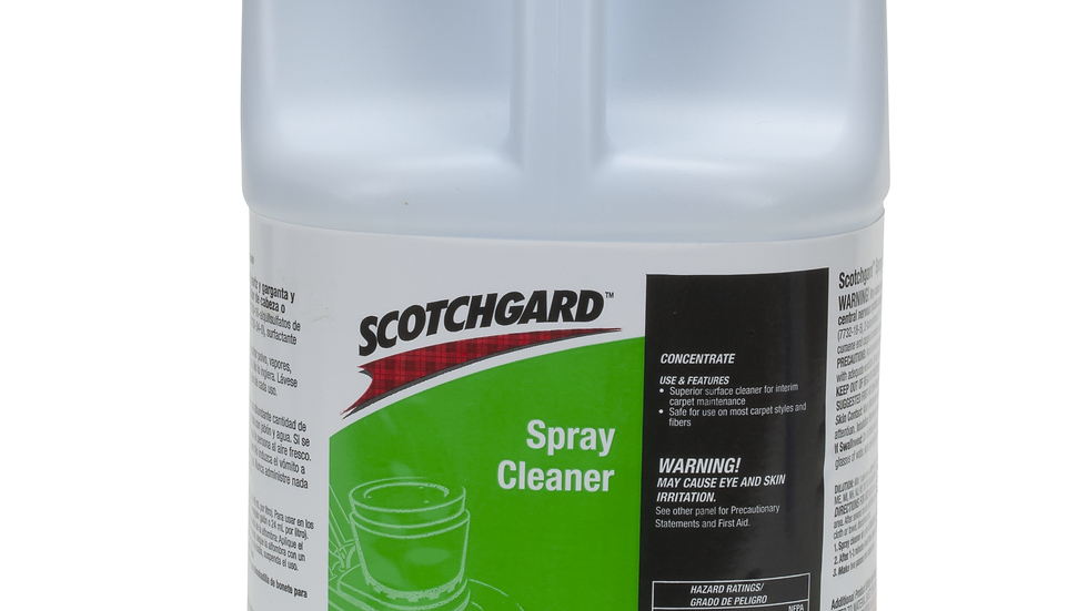 3M™ Scotchgard™ Spray Cleaner Concentrate, 4 gal/Case