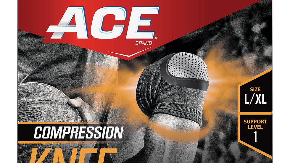 ACE™ Compression Knee Support, 907002, Large / Extra Large