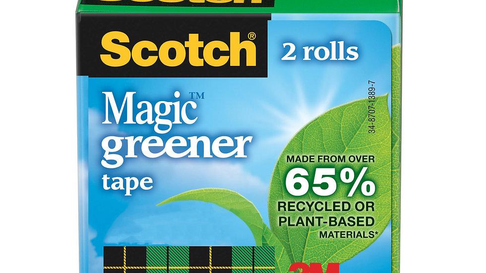 Scotch® Magic™ Greener Tape 812-2P, 3/4 in x 900 in (19 mm x 22,8 m)