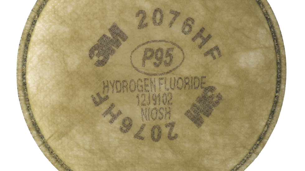 3M™ Particulate Cartridge, Hydrogen Fluoride, P95, with Nuisance