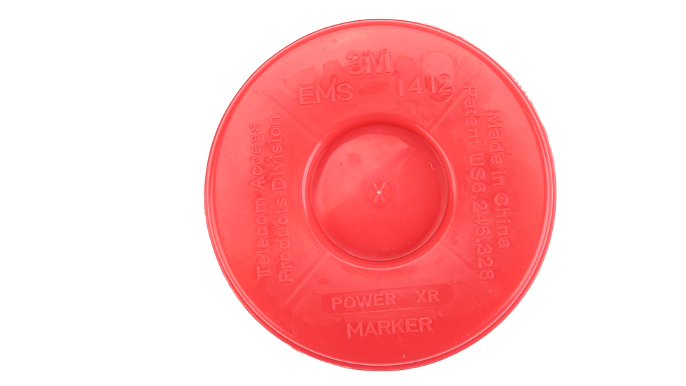 3M™ Disk Marker 1411, 5 ft Range, Telephone, Not for Direct Bury