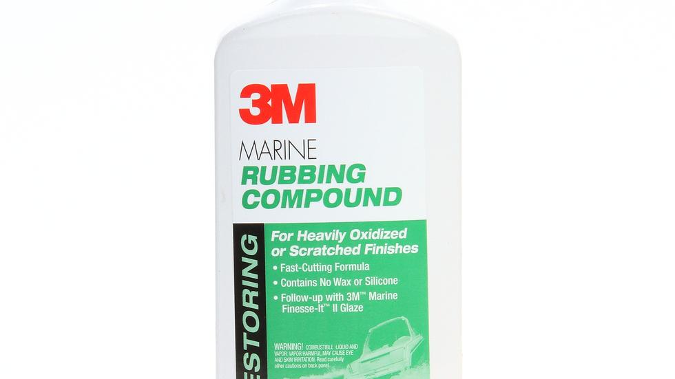 3M™ Marine Rubbing Compound, 09004, 16.9 fl oz (500 mL), 6 per case