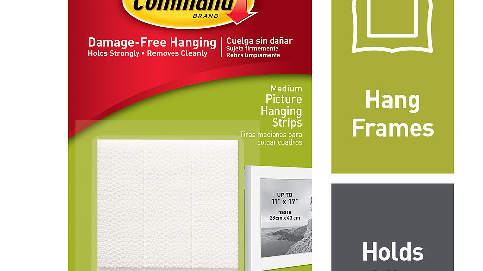 Command™ Medium Picture Hanging Strips 17201-ES
