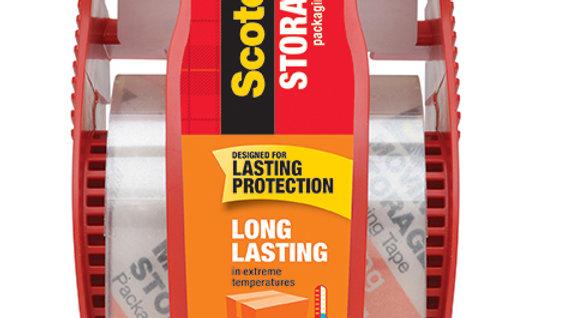 Scotch® Storage Tape 165, 1.88 in x 22.2 yd (48 mm x 20.3 m)