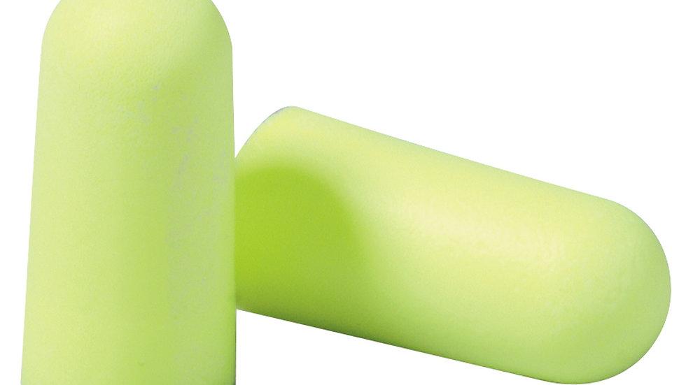3M™ E-A-Rsoft™ Yellow Neons™ Earplugs 312-1250, Uncorded, Poly Bag
