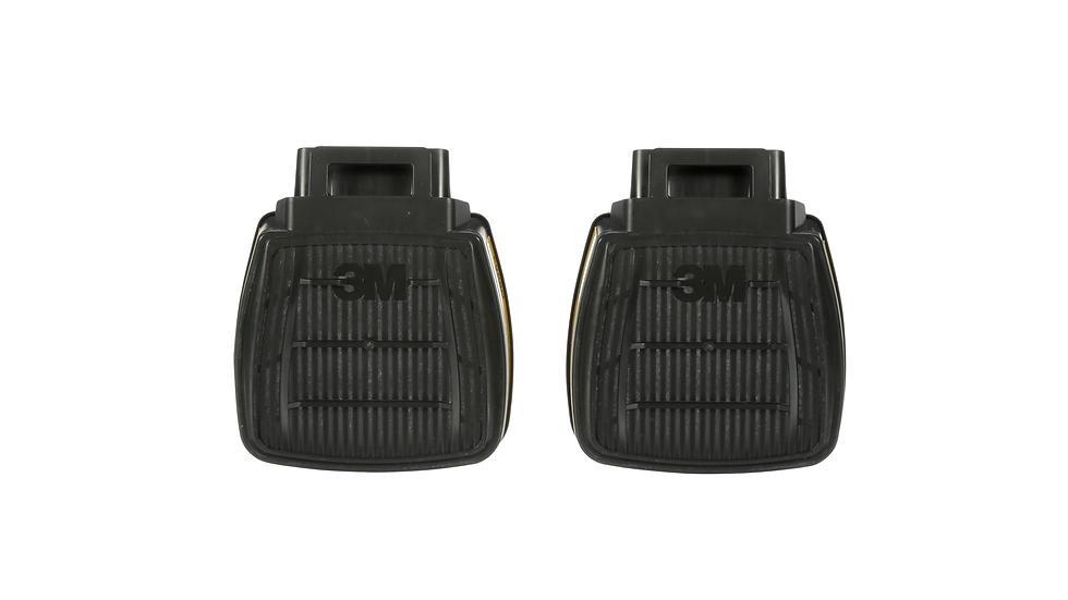 3M™ Secure Click™ Organic Vapor/Acid Gas Cartridge D8003, 60 ea/Case