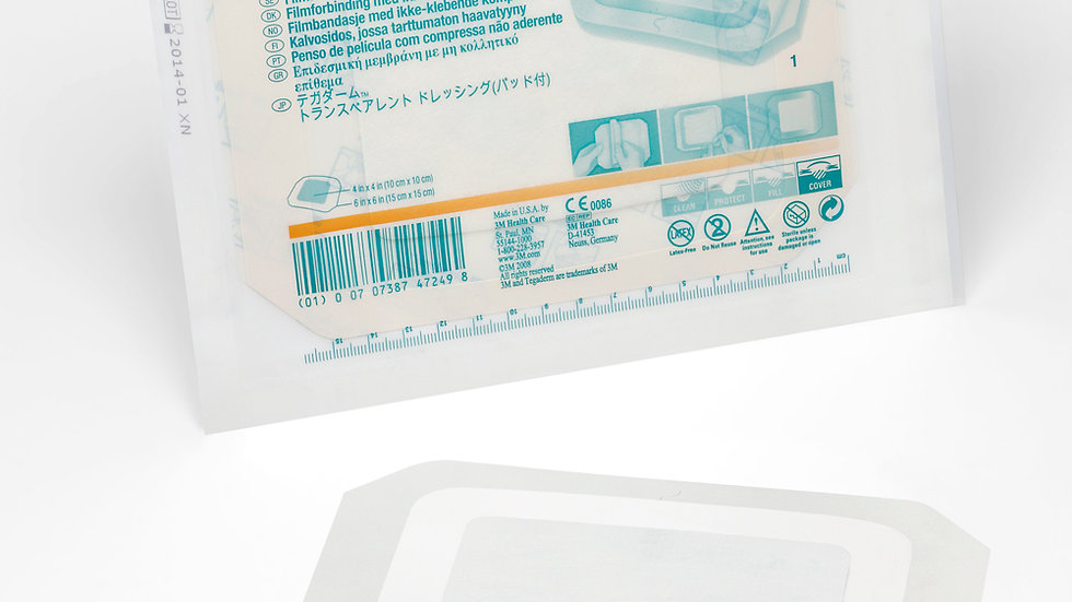 3M™ Tegaderm™ +Pad Film Dressing with Non-Adherent Pad 3588