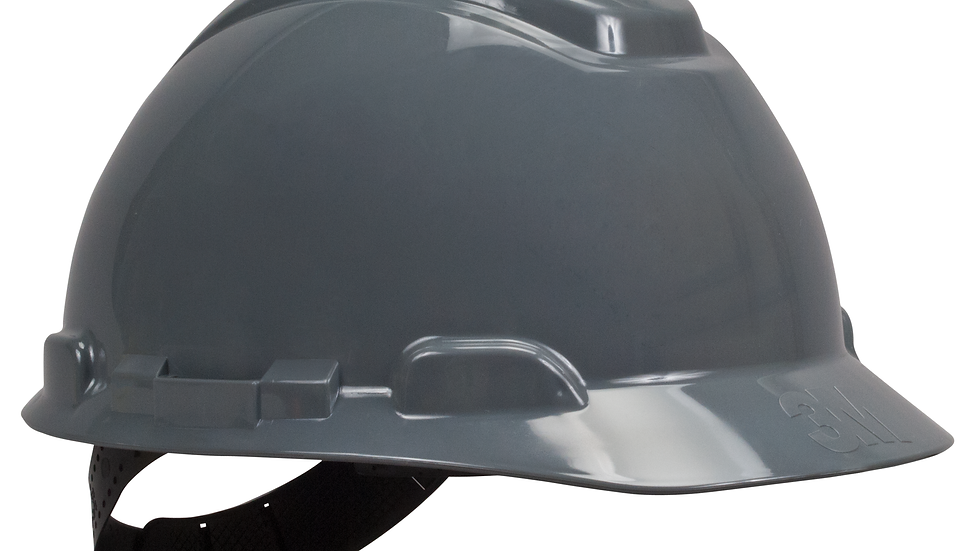 3M™ Hard Hat H-708P, Gray, 4-Point Pinlock Suspension, 20 EA/Case