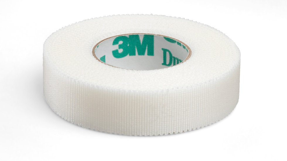 3M™ Durapore™ Surgical Tape 1538-0, 1/2 inch x 10 yard (1,25cm x 9,1m)