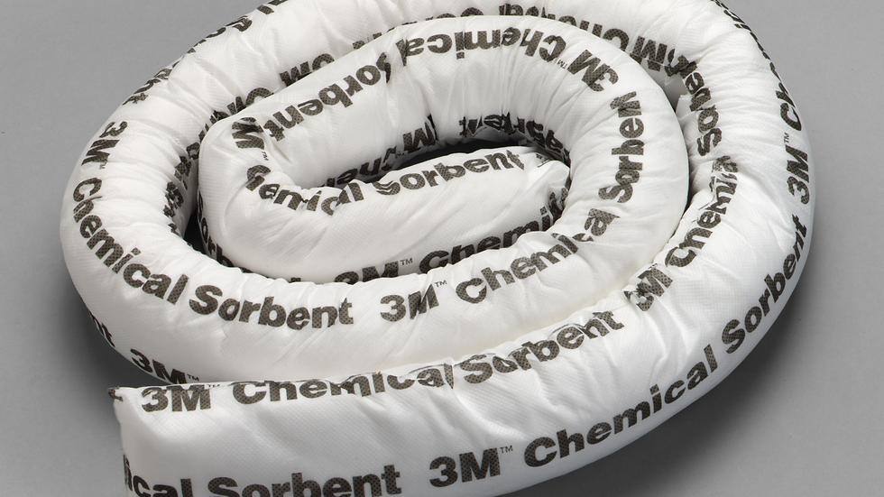 3M™ Chemical Sorbent Mini-Boom P-208, 12 Gallons, 6 Each/Case