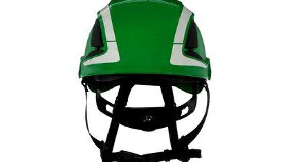 3M™ SecureFit™ Safety Helmet, X5004VX-ANSI,  Green, vented, 1Ea/Box, 4 box/CS