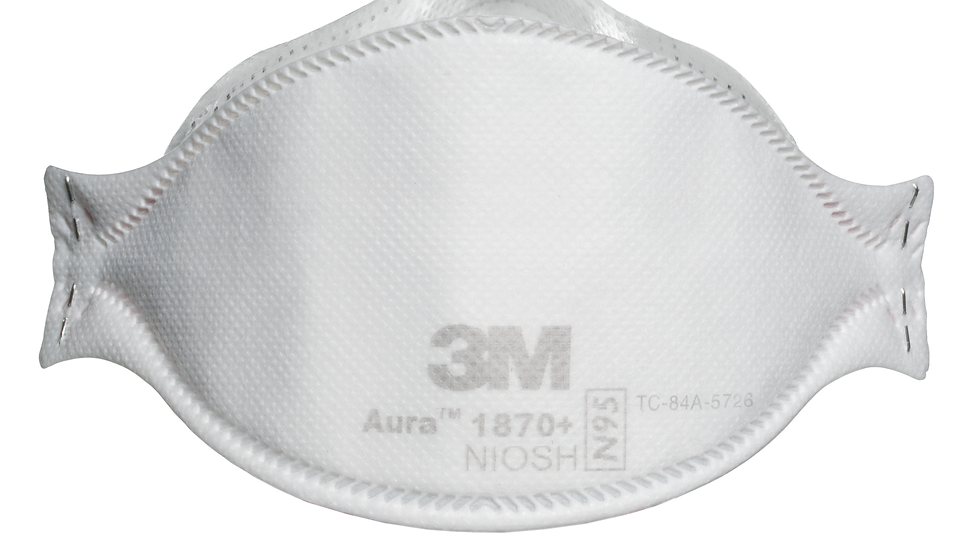 3M™ Aura™ Health Care Particulate Respirator and Surgical Mask 1870+, N95
