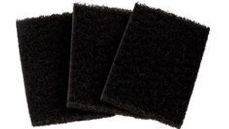 3M™ Kitchen Cleaning Pad 35-BLK, Black, 3 in x 5 in x 0.4 in, 60/Case