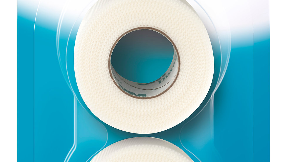 Nexcare™ Durable Cloth First Aid Tape 791-2PK 1 in x 360 in (25.4 mm x 9.14 mm)