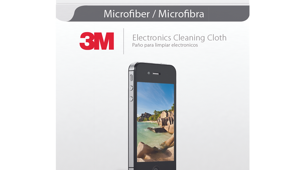 3M™ Electronics Microfiber Cleaning Cloth 9021, 20/1, 1 pack
