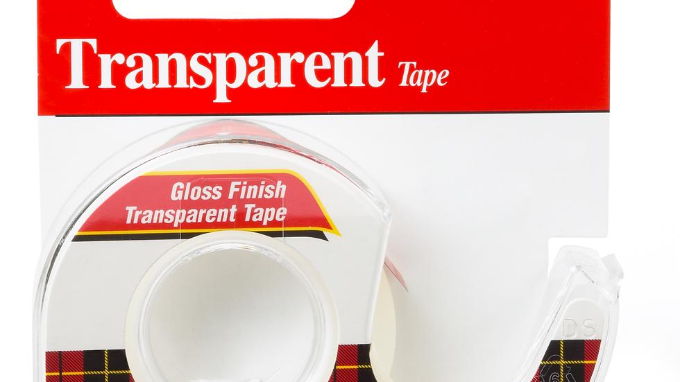 Scotch® Transparent Tape 157S, 3/4 in x 300 in