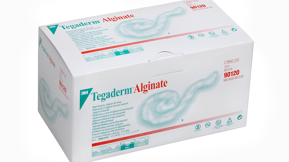 "3M™ Tegaderm High Integrity Alginate Dressing 90120 1"" x 2"" Rope Style Dressing"