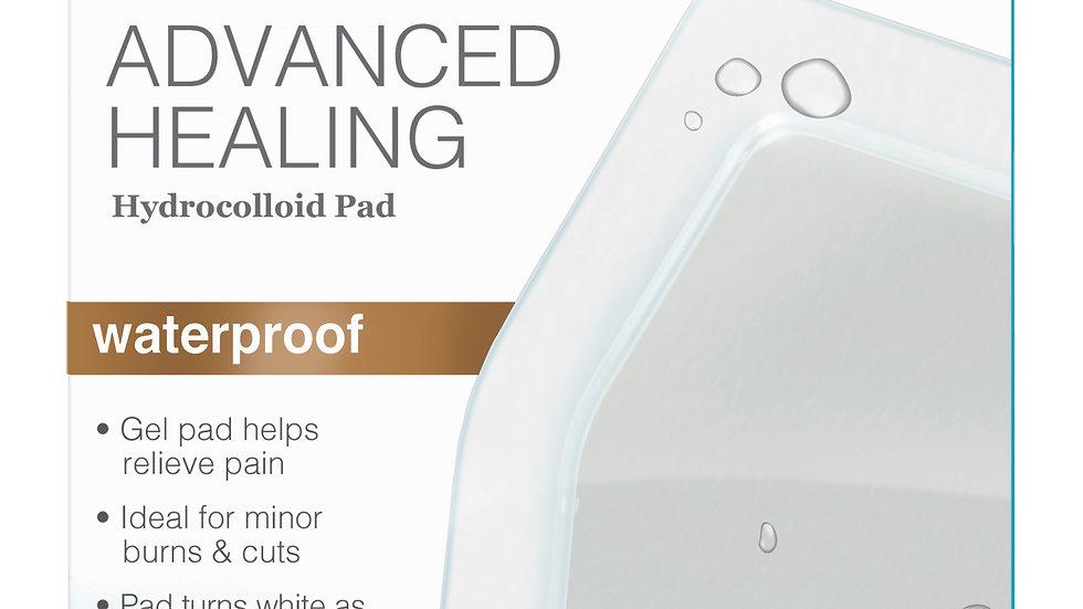 Nexcare™ Advanced Healing Waterproof Hydrocolloid Pads, AHD-06, 6 ct.