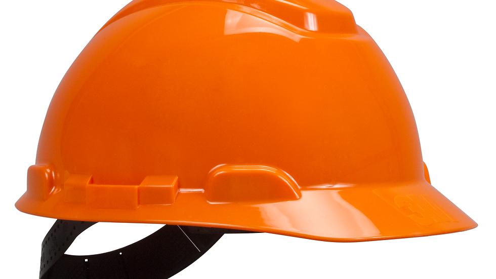 3M™ Hard Hat, Orange 4-Point Pinlock Suspension H-706P, 20 EA/Case