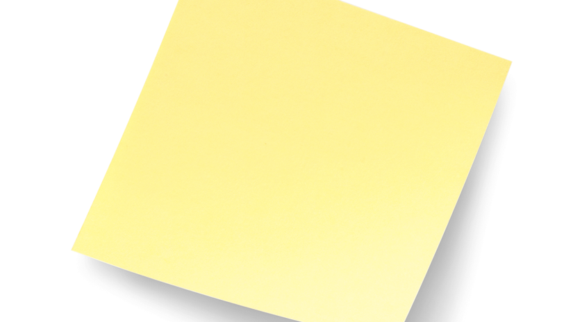 Post-it® Notes 5400 3 in x3 in (7.62 cm x 7.62 cm) Canary Yellow