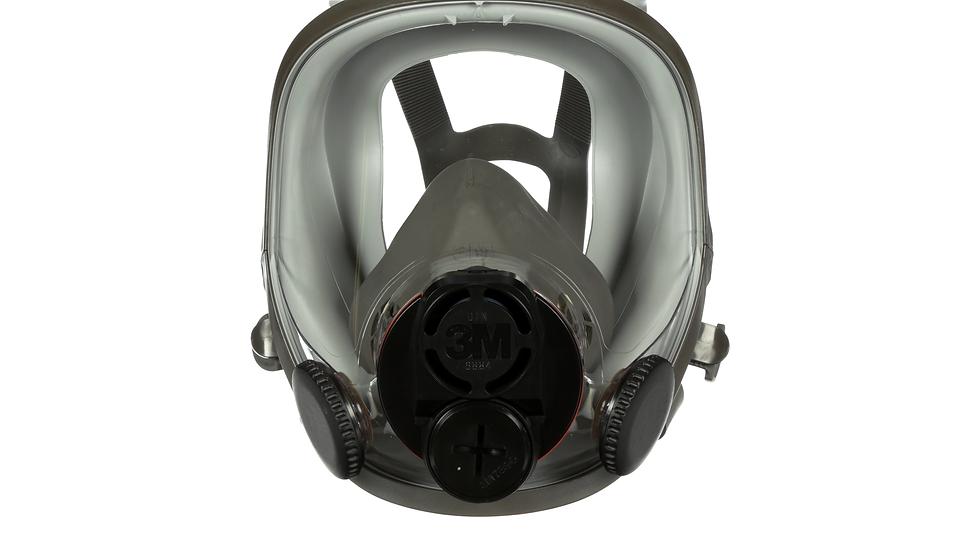 3M™ Full Facepiece Reusable Respirator 6800DIN, Medium 4 EA/Case