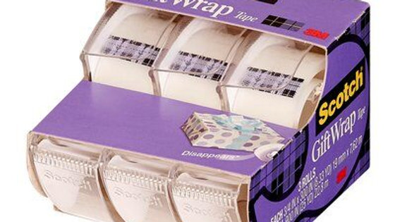 Scotch® GiftWrap Tape 311 3/4 in x 300 in