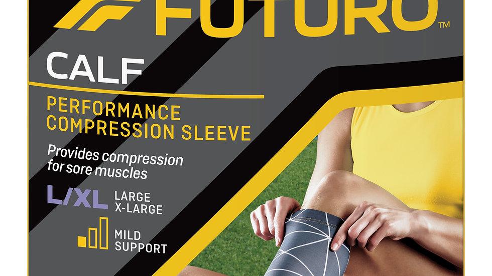 FUTURO™ Performance Compression Calf Sleeve, 80302EN, Large / X-Large