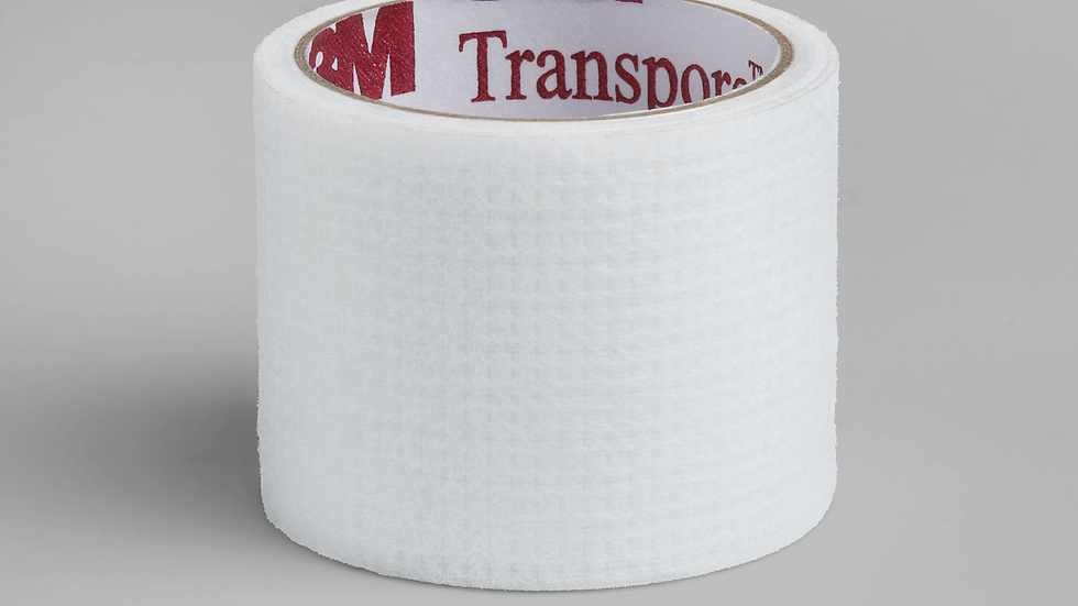 3M™ Transpore™ White Surgical Tape, single-patient use roll 1534S-1