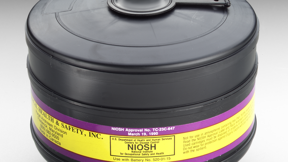 3M™ Organic Vapor/Chlorine/Hydrogen Chloride/Sulfur Dioxide/High Efficiency