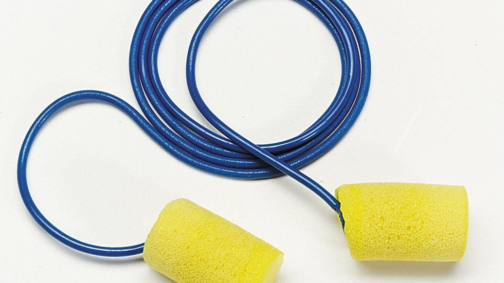 3M™ E-A-R™ Classic™ Earplugs 311-4101, Metal Detectable Poly Bag 2000 Pair/Case