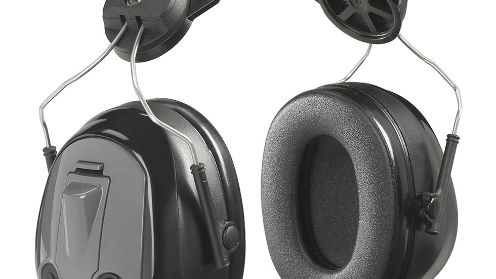 3M™ PELTOR™ PTL Earmuffs H7P3E-PTL, Hard Hat Attached Headset, 10 EA/Case