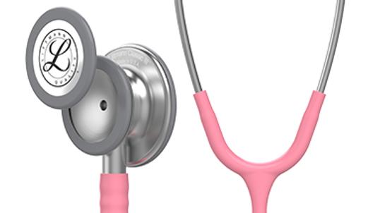 3M™ Littmann® Classic III Monitoring Stethoscope, Pearl Pink Tube, 27 inch 5633
