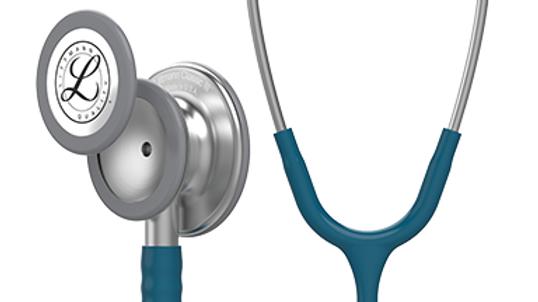 3M™ Littmann® Classic III™ Monitoring Stethoscope, Caribbean Blue Tube, 27 inch