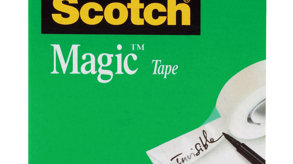 Scotch® Magic™ Tape 810, 3/4 in x 1296 in Boxed