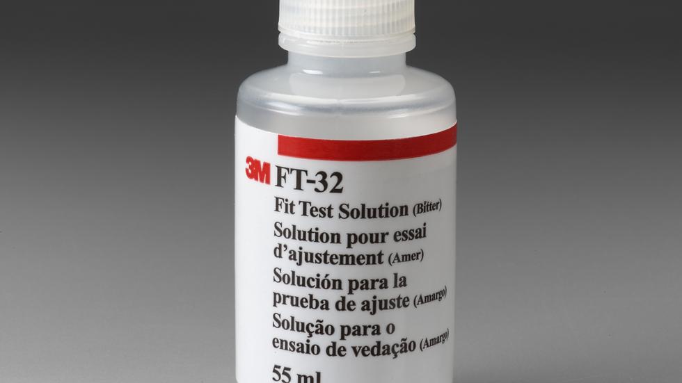 3M™ Fit Test Solution FT-32, Bitter  6 EA/Case