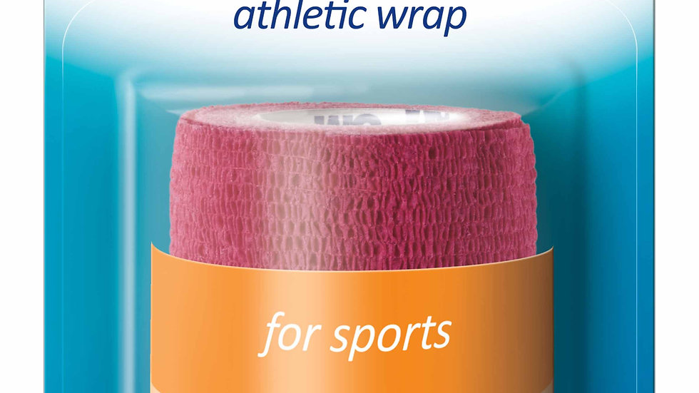 Nexcare™ Athletic Wrap CR-3R, 3 in x 80 in (76,2 mm x 2,03 m), Unstretched