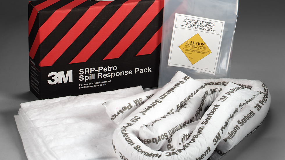 3M™ Petroleum Sorbent Spill Response Pack SRP-PETRO, 3 Each/Case