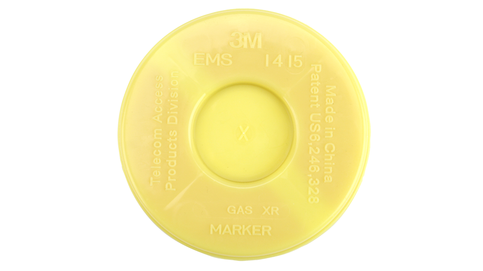 3M™ Disk Marker 1415-XR/iD, 5 ft Range, Gas, Not for Direct Bury