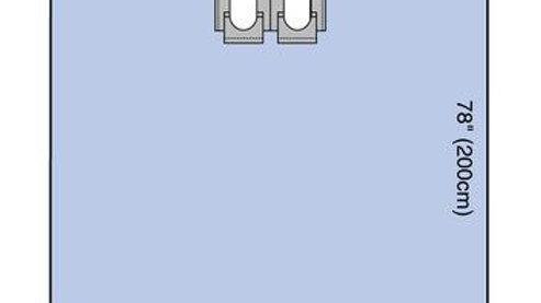 3M™ Steri-Drape™ Bilateral Split Sheet 9046