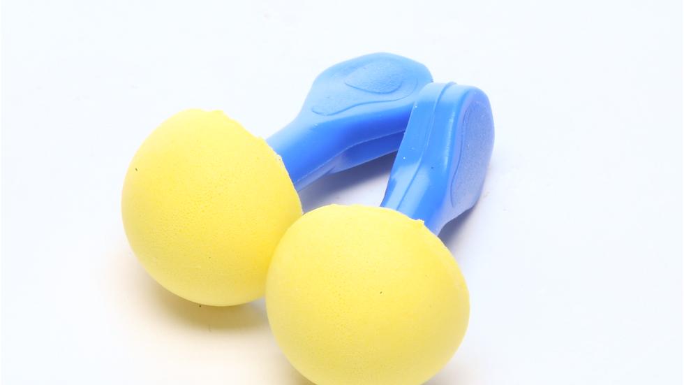 3M™ E-A-R™ EXPRESS™ Pod Plugs™ Earplugs 321-2100, Uncorded, Blue Grips