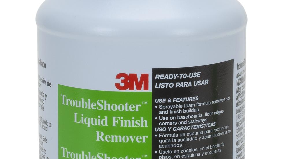 3M™ TroubleShooter™ Liquid Finish Remover, 1 Quart, 6/Case