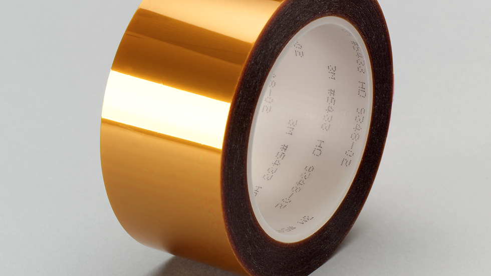 3M™ Linered Low-Static Polyimide Film Tape 5433