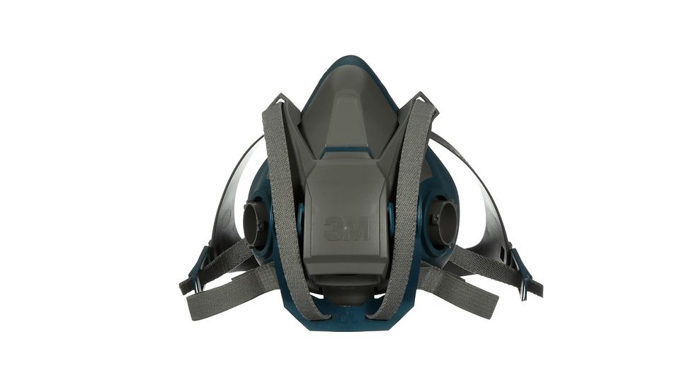 3M™ Rugged Comfort Quick Latch Half Facepiece Reusable Respirator 6502QL/49490