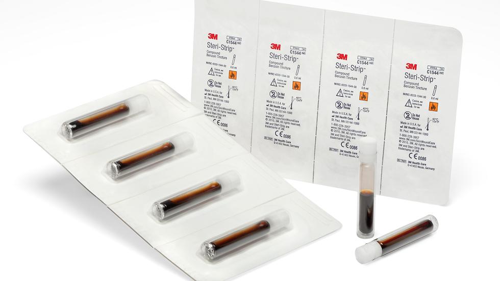 3M™ Steri-Strip™ Compound Benzoin Tincture C1544, 2/3 cc vial